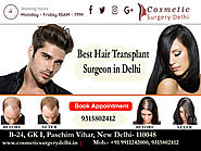 Hair Transplant - Best Cosmetic & Plastic Surgery in Delhi, India | Cosmetic Plastic Surgeon in Delhi