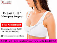 Breast Lift / Mastopexy Surgery - Best Cosmetic & Plastic Surgery in Delhi, India | Cosmetic Plastic Surgeon in Delhi