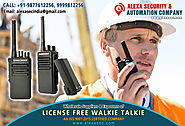 License Free Walkie Talkie suppliers dealers exporters distributors in Delhi, NCR, Noida, Punjab India +91-98776-1225...