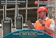 License Free 2 way Radio Communication suppliers dealers exporters distributors in Delhi, NCR, Noida, Punjab India +9...