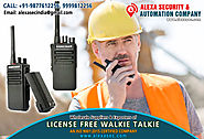 Portable License Free Walkie Talkie suppliers dealers exporters distributors in Delhi, NCR, Noida, Punjab India +91-9...
