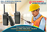 License Free Walkie Talkie for Mining Industry suppliers dealers exporters distributors in Delhi, NCR, Noida, Punjab ...