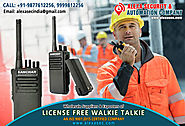 License Free Walkie Talkie for Construction Industry suppliers dealers exporters distributors in Delhi, NCR, Noida, P...
