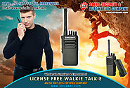License Free Walkie Talkie for Oil & gas Industry suppliers dealers exporters distributors in Delhi, NCR, Noida, Punj...