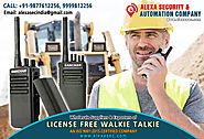 License Free Walkie Talkie for Railways suppliers dealers exporters distributors in Delhi, NCR, Noida, Punjab India +...