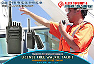 License Free Walkie Talkie for Shipping suppliers dealers exporters distributors in Delhi, NCR, Noida, Punjab India +...