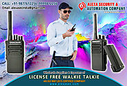 License Free Walkie Talkie for Pharmaceutical suppliers dealers exporters distributors in Delhi, NCR, Noida, Punjab I...