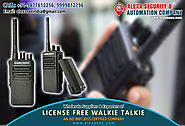 License Free Walkie Talkie for Restaurants suppliers dealers exporters distributors in Delhi, NCR, Noida, Punjab Indi...