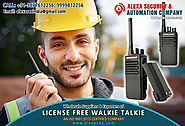 License Free Walkie Talkie for Campus uses suppliers dealers exporters distributors in Delhi, NCR, Noida, Punjab Indi...