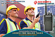 License Free Walkie Talkie for Multiplex Cinemas suppliers dealers exporters distributors in Delhi, NCR, Noida, Punja...