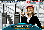 License Free Walkie Talkie for Educational Institutions suppliers dealers exporters distributors in Delhi, NCR, Noida...