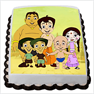 chota bheem friends cake