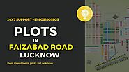 Plots in Lucknow Faizabad Road | Investment plots Lucknow Faizabad road