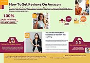 How To Get Product Reviews On Amazon