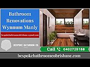 High-Quality Bathroom Renovations in Wynnum Manly by Professionals