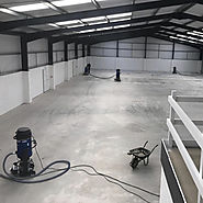 Industrial floor repairs | Industrial resin flooring contractors