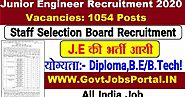 RSMSSB Junior Engineer Recruitment Notification 2020 : Govt Jobs for 1054 JE Posts in India