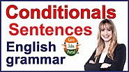 Conditional Sentences in English - English lesson Related to the Conditionals in English grammar