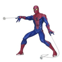 The Amazing Motorized Web Shooting Spider-Man Figure: Toys & Games