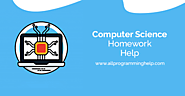 Computer Science Homework Help with homework solution
