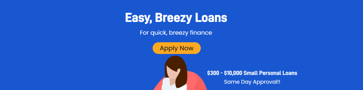 Headline for Breezy Loans NZ- Instant Small Personal Loans