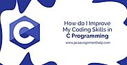 How do I improve my coding skills in C programming?