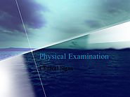 Physical examination signs - Shoulder and Knee Exam