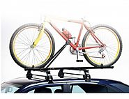 Buy 2x EU Made Universal Car Roof Bicycle Bike Carrier Upright Mounted Cycle Rack