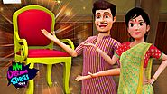 जादुई कुर्सी | Magical Chair Story | Village Comedy & Funny Video | 3D Animated Magical Stories