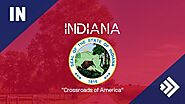 What is the Indiana State Abbreviation and Indiana Postal Abbreviation?