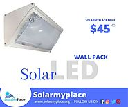 Illuminate your walls in the dark through LED Solar Wall Pack., Boulder