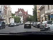 Driving into Lübeck, Germany [HD 720p]