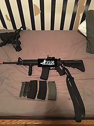 Airsoft KWA Custom Built Full Metal KM4 RIS Airsoft AEG (2GX 9mm Version)