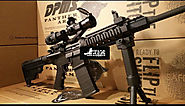 AR15 DPMS Panther Oracle 3x Magnifier & Red Dot Quad Rail