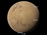 Google Maps Currently Taking Users To The Moon & Mars