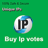 Buy Unique IP Votes | Buy votes at the cheap price To Win Online contest.