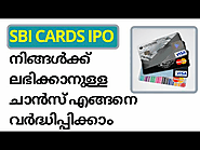 SBI Card IPO date price and other details