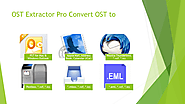 Convert OST files to any format with OST Extractor Pro – OLM to PST