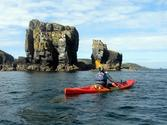 Sea kayaking in Sark, Channel Islands with Jersey Kayak Adventures