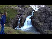 Fabulous Waterfalls near the Town of Seyðisfjörður - Iceland - July 7, 2012
