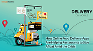 How Online Food Delivery Apps Are Helping Restaurants to Stay Afloat Amid the Crisis
