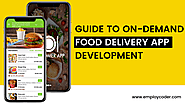 How to Make a Food Delivery App?