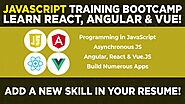 JavaScript Bootcamp- Build Apps With Top 3 JS Frameworks! by Eduonix Learning Solutions — Kickstarter