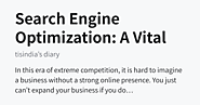 Search Engine Optimization: A Vital Cog in Modern-Day Business