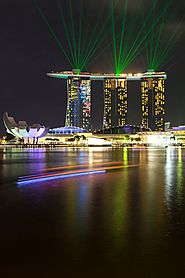 The Light Show at Marina Bay Sands