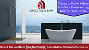 Things to Know before you Get a Freestanding Bath for your Home