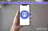 How to Use Where is My Train App in Hindi