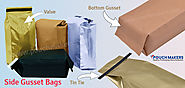 Side Gusset Bags With Valve