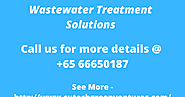 What Are the Benefits of Wastewater Treatment?