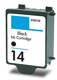 HouseOfToners Remanufactured Replacement for HP 14 (C5011DN) Black Ink Cartridge